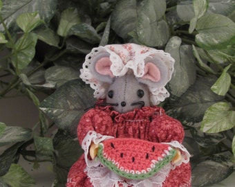Emma MumseyMouse..Cute Collectible  Handmade Mouse for your House