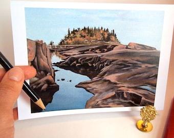 Card, Lake Superior