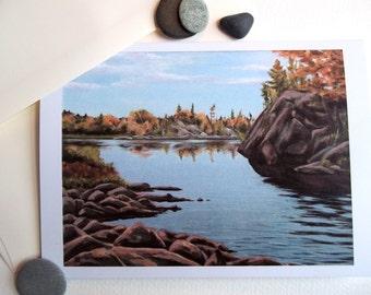 Card, Landscape