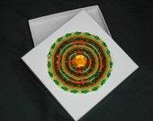 Hand Beaded Applique on Gift Box Seed Beads Circle Butterfly Star Acrylic Rhinestone Jewelry Keepsake Treasure - 0916203503