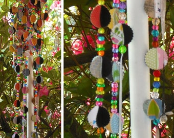 Paper Balls Beads Ribbon Bunting Garland Multi Colors Party Wedding Christmas Tree Decoration Entertaining Holiday Room Decor Ready to Ship