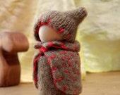 Haidie the Autumn Waldorf Peg Doll