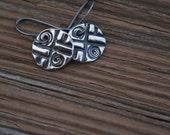 PMC Fine Silver Earrings