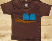 Adorable Little Owls in a Tree Toddler Tee LAST ONE
