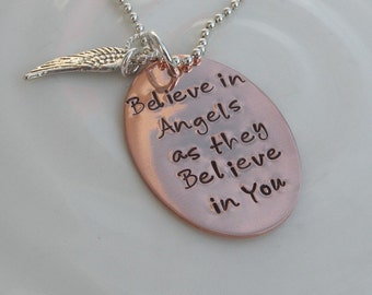Believe in Angels Necklace