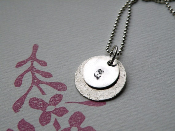 Wise Owl Simple Statement Necklace