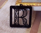 Your names first letter Pendant (R letter)