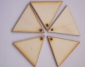 20 Pieces TRIANGLE Shape for Scrapbooking, Earrings, Pendant, Brooch etc