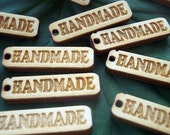 Wooden Tags For your handmade Jewels