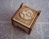 Secret Wood Box - Zodiac Collection - Aries -