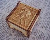 Secret Wood Box - Zodiac Collection - Gemini -