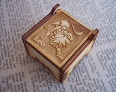 Secret Wood Box - Zodiac Collection - Leo -