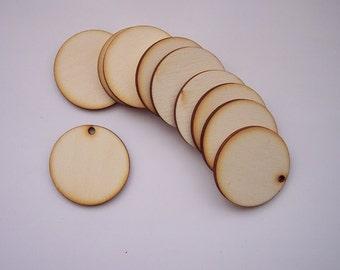 20 Pieces CIRCLE Shape Tile- For pendant earring decoupage...