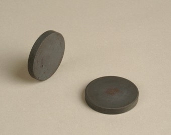 12 pieces Ceramic Crafts Magnets (18mm - 3mm height)