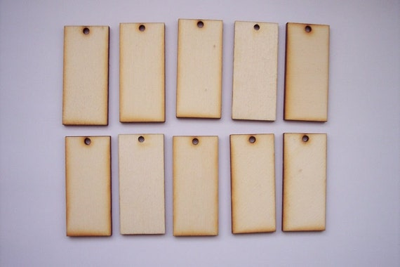 20 Pieces RECTANGLE Shape for Scrapbooking, Earrings, Pendant, Brooch etc