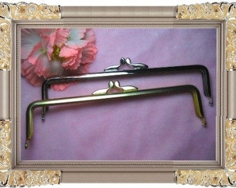 20cm (8inch) slap-up metal purse frame (2colors)-1piece