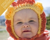 CROCHET PATTERN PDF - Zoo Caps - Lovable Lion Hat - Infant/Baby/Toddler/Child sizes