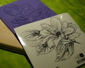 From the Garden art stamp