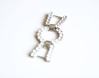 1 Piece Rhinestone Buckle For Fashion Projects Costumes Altered Couture Dresses And More