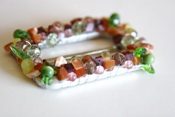 1 Piece Beaded Buckle For Fashion Projects Costumes Altered Couture Dresses And More