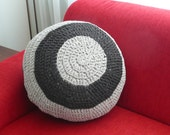 Small ottoman, from recycled material