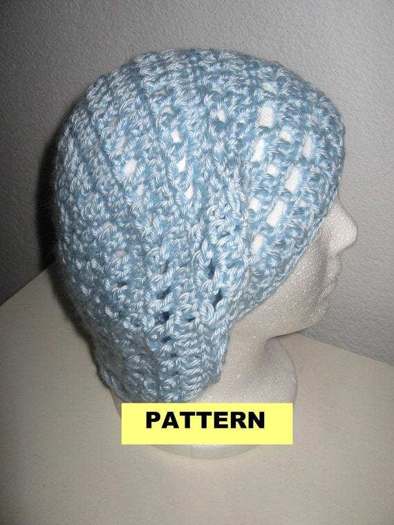 Free Crochet Pattern Mens Beret : CROCHET HAT PATTERN Slouchy Beret by CROCHETBYMELISSA on Etsy