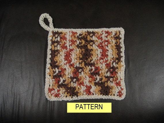 COTTON HOT PAD / Crochet Pattern