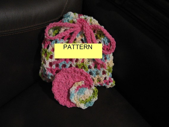 Crochet Pattern / Reuseable COTTON FACIAL by CROCHETBYMELISSA