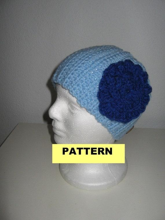 CROCHET HEADBAND PATTERN - Flower Headband