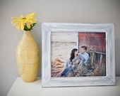 2- 10x13 or 11x14 Rustic Weathered style picture frames