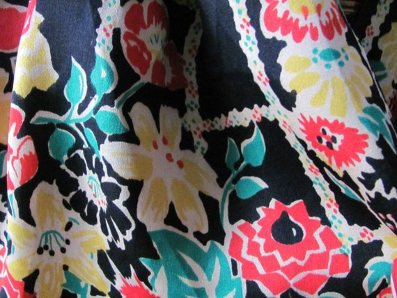 Best of the Best - Gorgeous Black Floral Pure Silk Ladies Scarf - 19 x 42 Long
