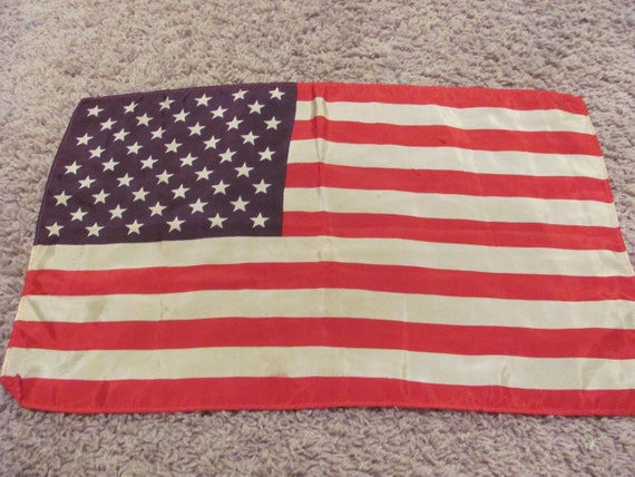 Lovely Vintage American Flag - 11 x 18