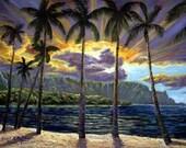 Stormy Sunset Bali Hai