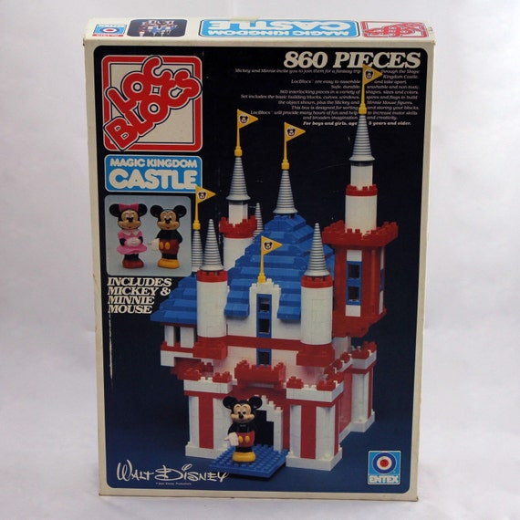 Disney Loc Blocs Magic Kingdom castle lego set