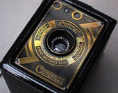 Vintage Coronet Art Deco Box Camera 1934 - 120 film Working Like New