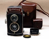 Rolleicord 1a Model K3 Twin Lens Reflex Camera Outfit-  1936 Vintage - 120  Film Square Format An Exquisite Camera