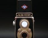 Halina Viceroy Vintage Camera -1957 SimpleTwin Lens Reflex - With Agfa Badge