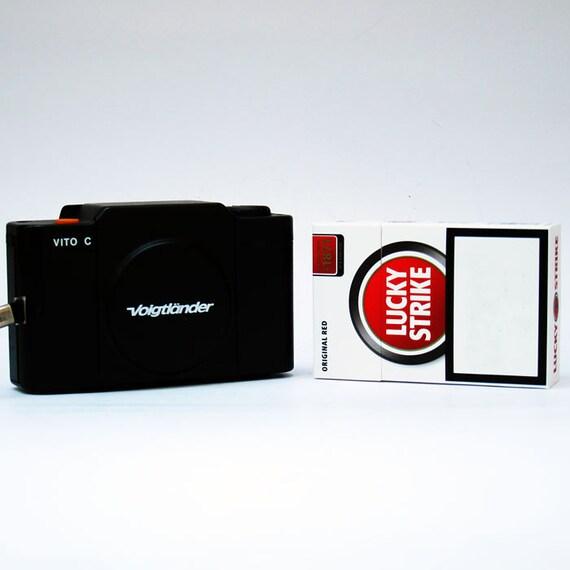 Voigtlander Vito C 35mm  Camera - 1980  Very Small Travel Camera Great Quality