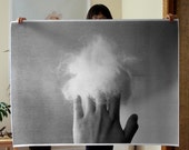 Hand Cloud Poster