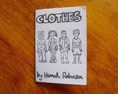 Clothes - a doodle zine