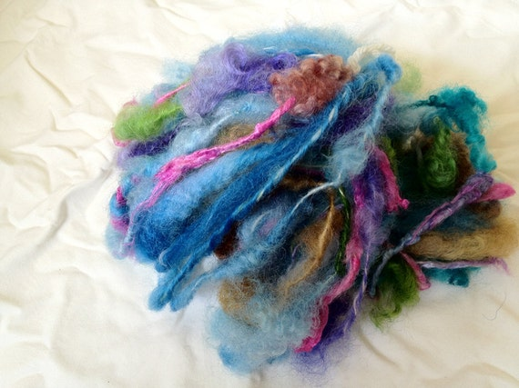 "Art yarn ""Faery Flowers"" 12 yards Tailspun"