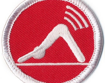 Yoga Fart Badge