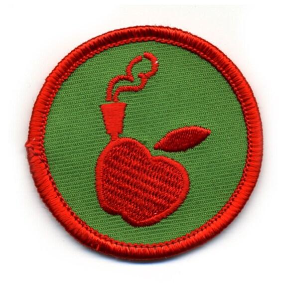 Apple Bong Badge