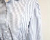 Chambray Stripe Dress (Small/Medium)