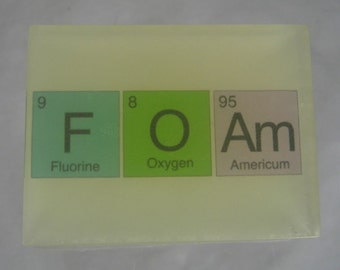 In Your ELEMENT - Periodic Table SOAP - FOAm - VEGAN