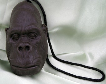 GORILLA My Dreams - Gorilla SOAP on a ROPE - Banana Scent - Vegan