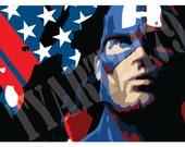 Wall Art Home Decor Marvel Comics Avengers Assemble 6 Piece Set Captain America Thor Iron Man Hawkeye Hulk Black Widow