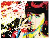 Wall Art Home Decor Katy Perry Pop Art Print