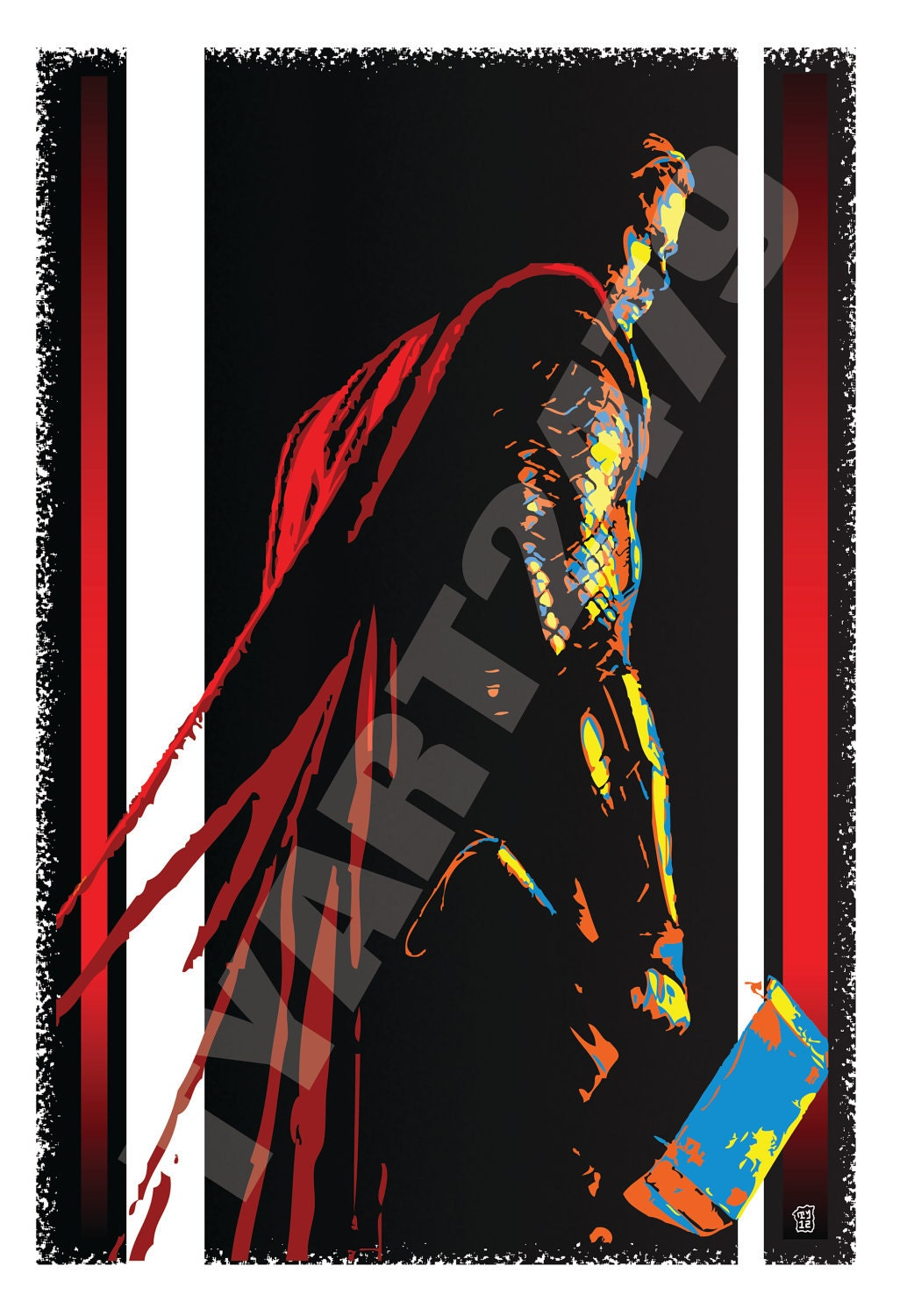 Wall Art Home Decor Marvel Comics The Mighty Thor Of The