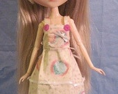 Overall dress for Pullip, Dal, Byul, and Blythe